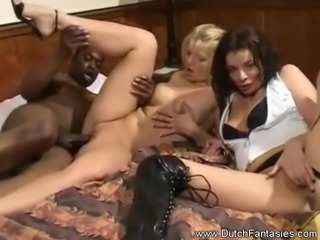 Threesome Sex From Holland