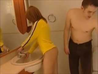Redhead Bathroom Fuck