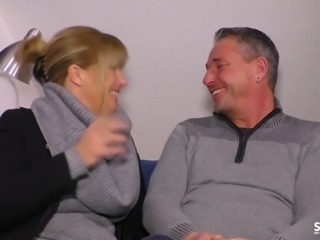 SexTapeGermany - German blonde MILF fucked in a hot sex tape