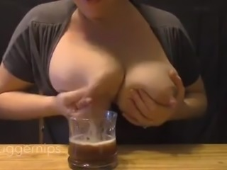 Amateur Huge Engorged Breasts Milking # 2