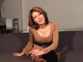 Glamorous brunette has the most stunning shemale cock ever!