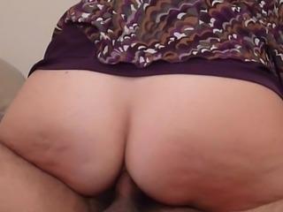 Homemade : Mature Booty prefers deep anal fucking