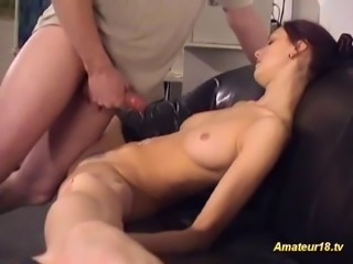 Flexible gymnast gets fucked and takes oral sex hard