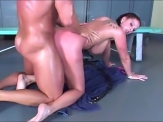 Curvy huge ass and tits chick hard horny fucking