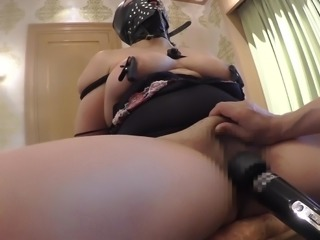 house wife boobs,wand massage