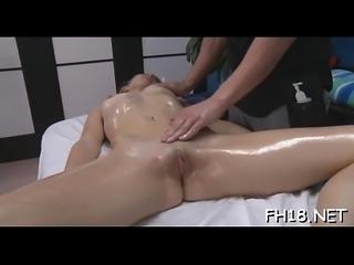 Raunchy whores masturbate