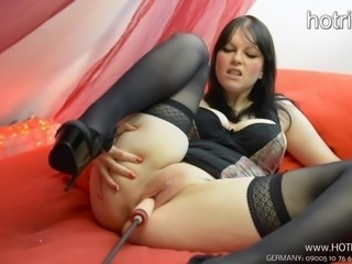 Fickmaschine Fucking Machine Dirtytalk German Busty Milf