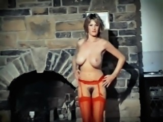 ADDICTED TO LOVE - vintage 80's big tits striptease dance