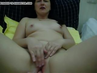Stroking wet pussy PornWebcamZ.com