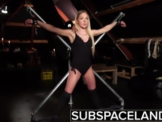 Bondage slave rough punishment kinky spanking latex fetish