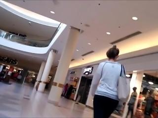 candid tall teen ass in leggings