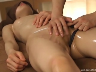 Yuikawa Chihiro is a sexy chick in need of an erotic massage