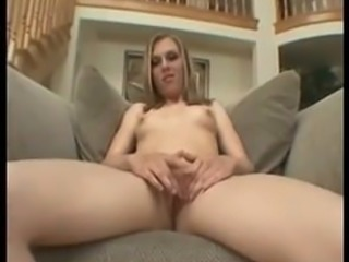 Very Cute and sexy blonde fucked by lucky bastard