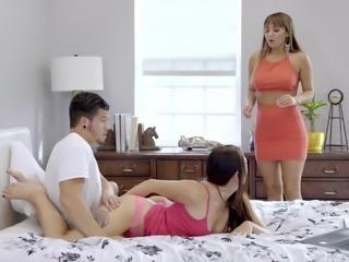 Her mom, a pornstar