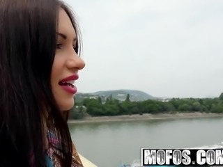 Mofos - Public Pick Ups - Russian Brunette Fucks Outdoors st