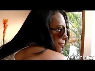 Mamita from brazil likes hard dicks