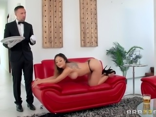 Kaylani wasn't exactly expecting Keiran to come home just yet. She was just...