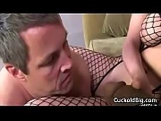 Cuckold Sessions - Hot Big Tit MILF Enjoy Big Black Cock WHile Hubby Watch 02