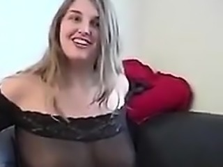 Blonde Wife Getting Deep Anal Doggystyle