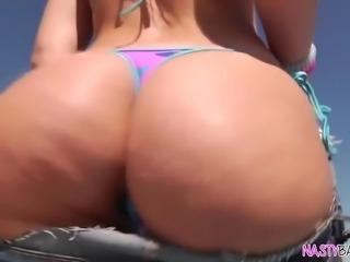 Booty Daisy Stone enjoys big dick anal sex