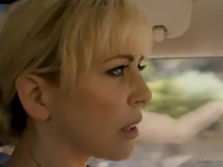 Buxom Elsa Jean is a naughty blond head who goes lesbian today
