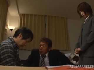 Deepthroat Fucking and Hardcore Sex with Japanese Girl Saki Ninomiya