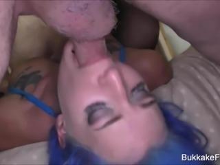 Bukkake GangBang With Alexxa Vice and Tyla Moore
