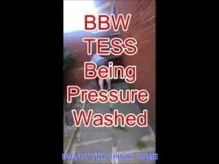 BBW Tess Pressure washed.