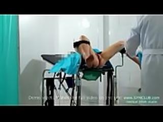 Gyno exam &amp_ vibro orgasm
