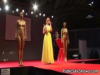 Crazy amateur video exposing hot live sex show  free