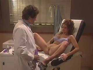 Redhead fucked hard by the doctor