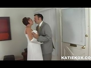 Katie Kox White Wedding
