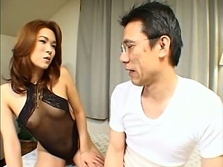 Japanese shemale fucked by her family