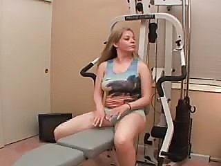 Hot workout in home gym  FM14 - xHamster.com