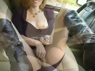 Chick in the car