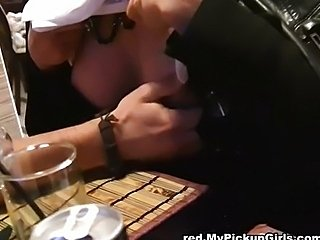Threesome with girl in stockings