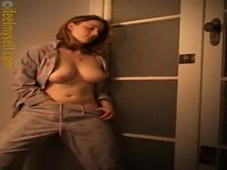 Beauty babe masturbating pussy  free