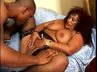 This MILF has a Huge Clit!!